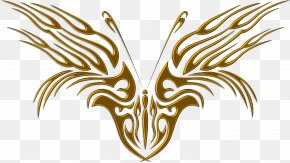 Decal - Butterfly Sticker Clip Art PNG