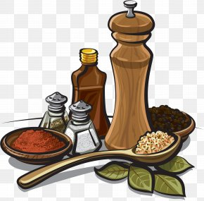 Jamon - Spice Mix Herb Clip Art PNG