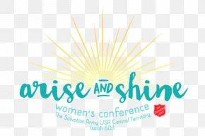 Hyatt Regency O'Hare Arise And Shine Women's Conference Logo Schaumburg Church PNG