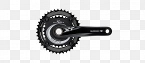 Bicycle Drivetrain Systems - Shimano Deore XT Bicycle Cranks Cycling Power Meter Mountain Bike PNG