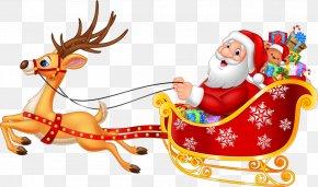 Santa Claus - Santa Claus's Reindeer Santa Claus's Reindeer NORAD Tracks Santa Rudolph PNG