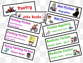 Basket Label Cliparts - Label Classroom Library Book Theme PNG