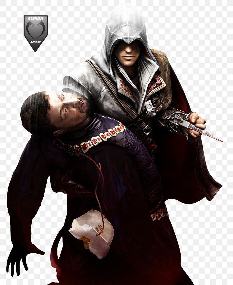Assassin's Creed II Assassin's Creed: Brotherhood Ezio Auditore Assassin's Creed: Revelations, PNG, 800x1000px, Assassin S Creed Ii, Actionadventure Game, Assassin S Creed, Costume, Desmond Miles Download Free