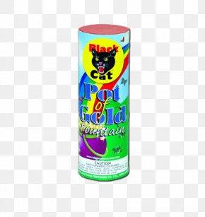 Gold Pot - Black Cat Fireworks Firecracker Sparkler PNG