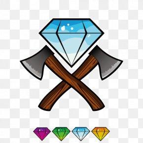 Vector Diamond Ax - Axe Euclidean Vector PNG
