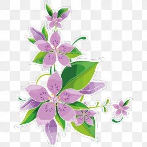 Flower - Clip Art Flower Borders And Frames Floral Design PNG