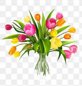 Flower Vase - Flower Bouquet Tulip Clip Art PNG