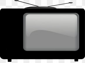 Do Not Pull The Old TV - Television Set Closed Captioning PNG