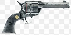 Weapon - Revolver Firearm Pistol Cap Gun Colt Single Action Army PNG
