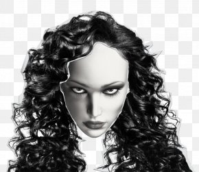 Hair - Long Hair Hairstyle Brown Hair Black Hair PNG