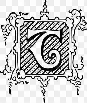 Decorative Letter - Visual Arts Drawing Clip Art PNG