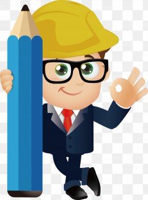 Engineer - Cartoon Engineering PNG