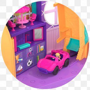 Polly Pocket - Playset Polly Pocket Mattel Toy Barbie PNG