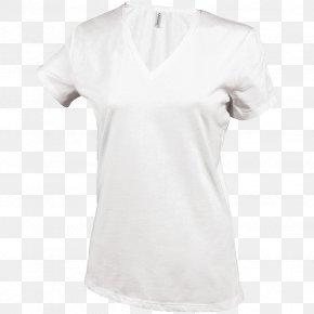 T-shirt - T-shirt Sleeve Undershirt Cotton Crew Neck PNG