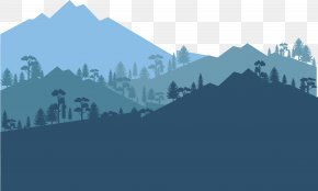 Vector Forest - Cloud Forest Euclidean Vector Tree PNG