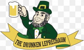 Saint Patrick's Day - The Drunken Leprechaun Saint Patrick's Day Clip Art PNG