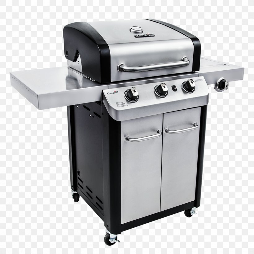 Barbecue Char-Broil Signature 4 Burner Gas Grill Grilling Char-Broil Signature 3 Burner Gas Grill, PNG, 1000x1000px, Barbecue, British Thermal Unit, Charbroil, Charbroil Truinfrared 463633316, Chef Download Free