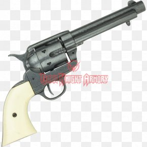 Weapon - Revolver Gun Barrel Firearm Colt Single Action Army .45 Colt PNG