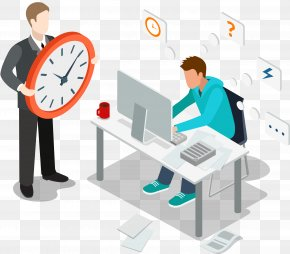 Overtime Stay Up To Time Management - Business Time Management Time Management Overtime PNG