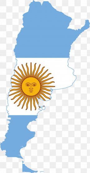 Map - Flag Of Argentina Map Flag Of Chile PNG