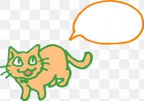 Cat Dialog - Cat Dialog Box Text Box PNG