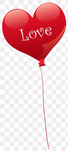Transparent Heart Love Balloon PNG Clipart - Heart Balloon Valentine's Day Clip Art PNG