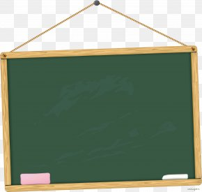 Cartoon Blackboard - Student School Blackboard Classroom PNG
