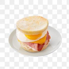 Egg Sandwich - Breakfast Sandwich Ham And Cheese Sandwich Cheeseburger McGriddles PNG