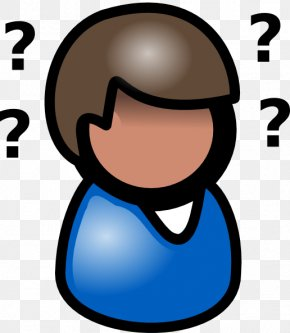 Thinking Person Picture - Person Free Content Clip Art PNG