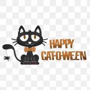 Cat - Cat Craft Halloween Logo Pumpkin PNG