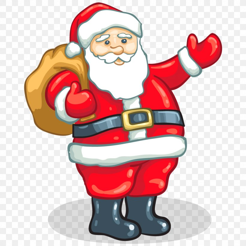 Father Christmas Cartoon Images.Santa Claus Father Christmas Gift Clip Art Png 1024x1024px