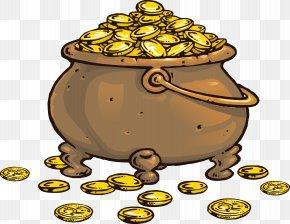 Coin - Piracy Coin Treasure Clip Art PNG