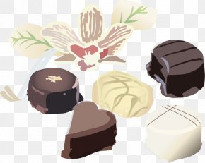 Hand-painted Black And White Chocolate Cake Flowers - Milkshake Chocolate Cake Chocolate Ice Cream PNG