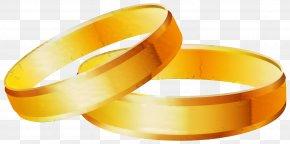 Wristband Orange - Wedding Love Background PNG