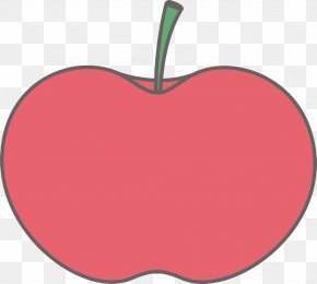Red Big Apple - Big Apple Clip Art PNG