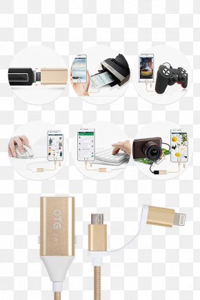 Computer Mouse - Electrical Cable Computer Mouse USB On-The-Go PNG