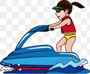 Jet Ski Cliparts - Jet Ski Personal Water Craft Sea-Doo Clip Art PNG