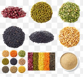 Cereals - Cereal Mung Bean Soybean Five Grains PNG