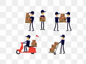 Express Car - Courier Delivery Express Mail Mail Carrier PNG