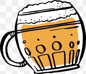 Hand Painted Foam Beer Glass - Beer Glasses Oktoberfest Beer Head PNG