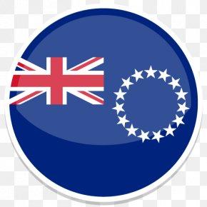 Cook Islands - Blue Area Symbol Logo PNG