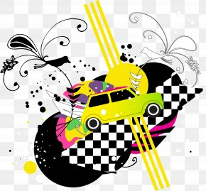 Cars Poster Background Material PNG