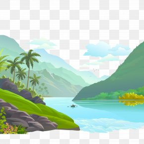 Small Rivers And Rivers Scenery - Mount Scenery Illustration PNG