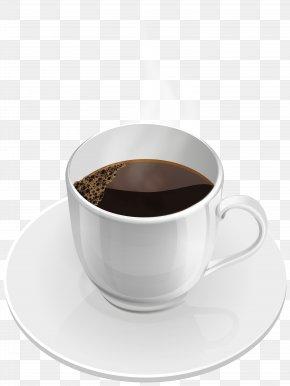 Hot Coffee Cup Clip Art Image - Ristretto Espresso Caffè Americano Coffee Tea PNG