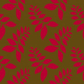 Red Leaf Print - Visual Arts Red Fox Text Wallpaper PNG