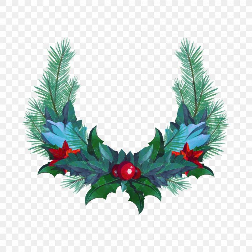 Wreath Christmas Garland Png 2000x2000px Christmas
