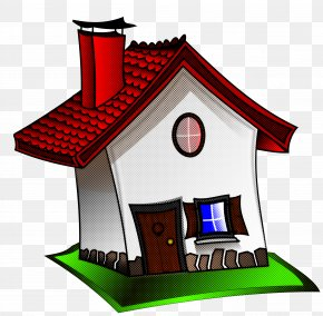 Building Cottage - House Cartoon Home Roof Cottage PNG