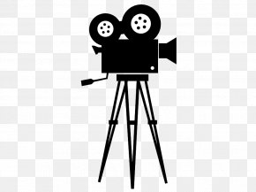 Silhouette - Movie Camera Photographic Film Cinema Silhouette PNG