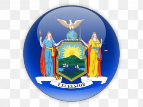 New York Icons - Flags Of New York City Coat Of Arms Of New York State Flag PNG