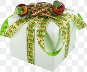 Box - Paper Box Gift Packaging And Labeling Ribbon PNG